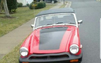 Photo 1975 MG Midget Convertible For Sale