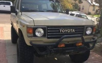 Photo 1983 Toyota Land Cruiser