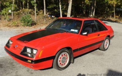 Photo 1985 Ford Mustang GT 2DR Convertible