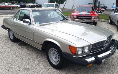Photo 1985 Mercedes-Benz 380-Class 380SL 2DR Convertible