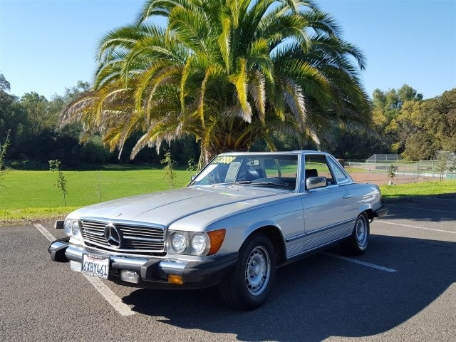 Photo 1985 Mercedes-Benz 380-Class 380SL