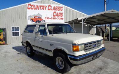 Photo 1987 Ford Bronco XLT