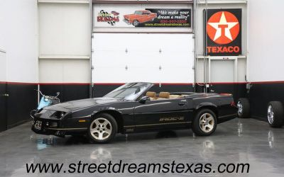 Photo 1988 Chevrolet Camaro Iroc Z 2DR Convertible