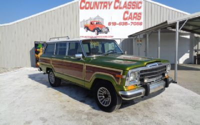 Photo 1988 Jeep Grand Wagoneer