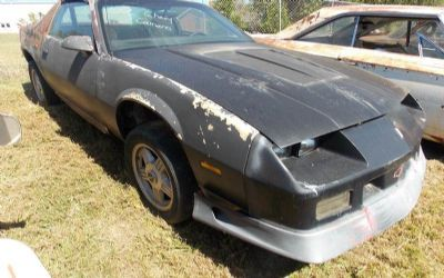 Photo 1989 Chevrolet Camaro Iroc Z 2DR Hatchback