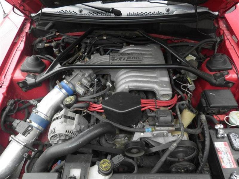 Photo 1995 Ford Mustang GT 2DR Convertible