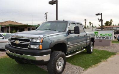 Photo 2007 Chevrolet Silverado 2500 HD, Lifted, Rims, LBZ, Crew Cab Truck