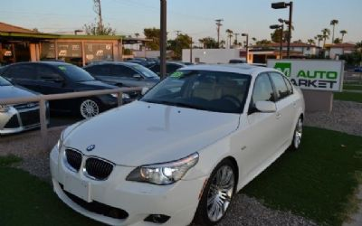 Photo 2008 BMW 550I Sport, Cold Weather Package, M Package Sedan
