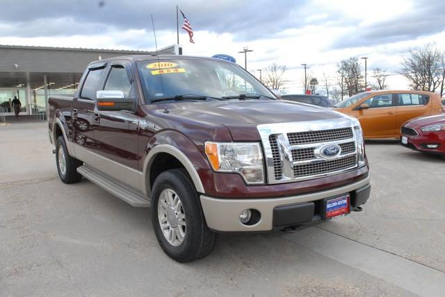 Photo 2010 Ford F-150 4X4 King Ranch 4DR Supercrew Styleside 5.5 FT. SB