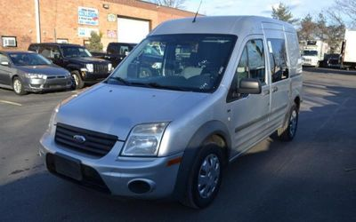 Photo 2010 Ford Transit Connect Cargo Van XLT 4DR Mini WSIDE And Rear Glass