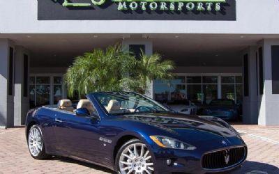 Photo 2013 Maserati Gran Turismo Convertible Convertible