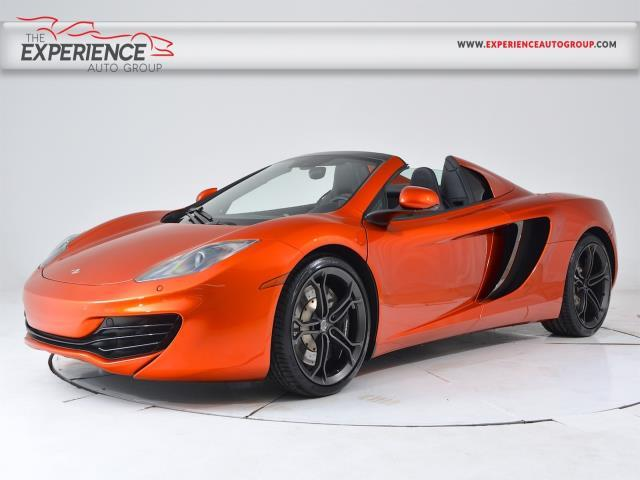 Photo 2013 Mclaren MP4-12C Spider 2DR Convertible