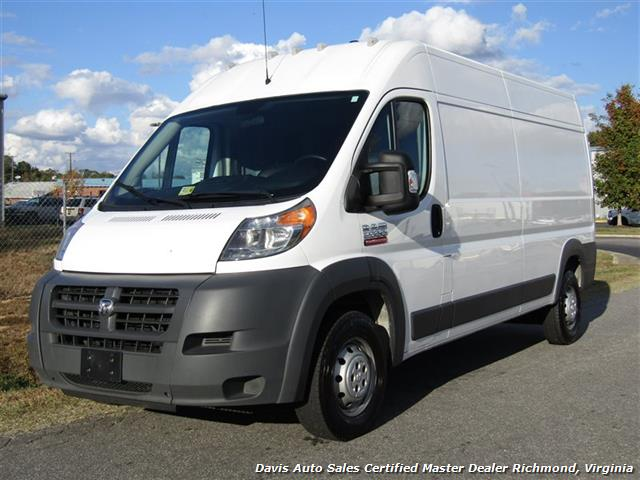 Photo 2015 Dodge Ram ProMaster Cargo 2500 159 WB High Top Roof Commercia