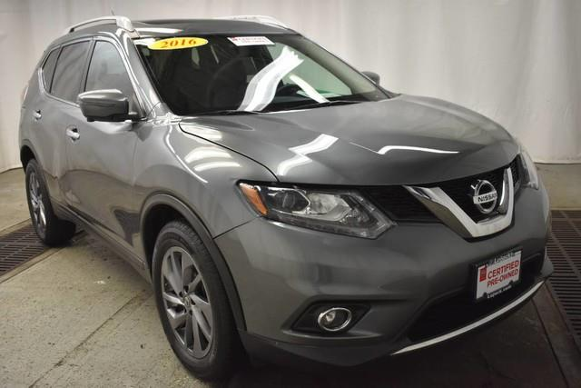 Photo 2016 Nissan Rogue AWD S 4DR Crossover