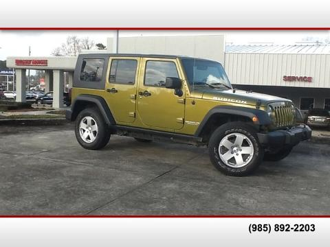 Photo 2007 Jeep Wrangler Unlimited Rubicon