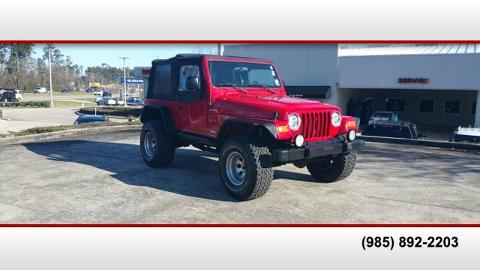 Photo 2004 Jeep Wrangler Sport
