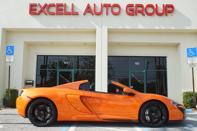 Photo 2015 McLaren 650S 2dr Convertible Spider