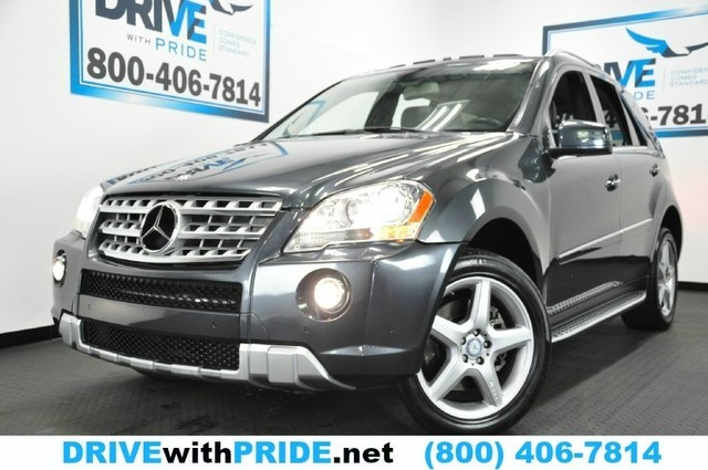 Photo 2011 Mercedes-Benz M-Class ML550 4MATIC AWD 1 OWN P2 HK N