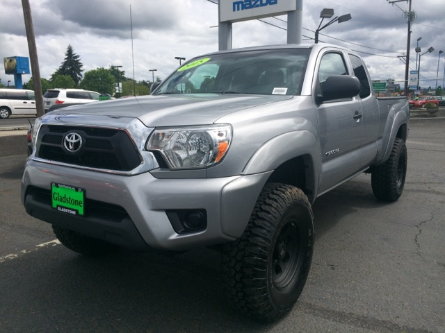 Silver Toyota Tacoma Lifted For Sale