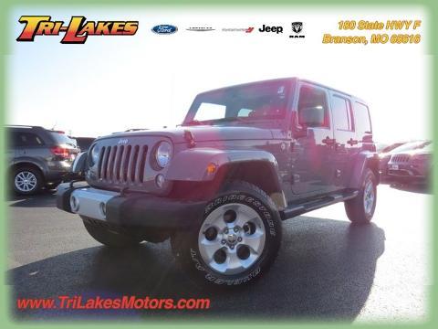 Photo 2015 Jeep Wrangler Unlimited Sahara