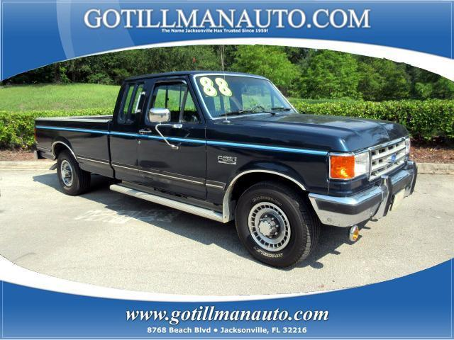 Photo Used 1988 Ford F250 XLT Lariat SuperCab HD