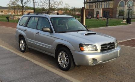 Photo Used 2004 Subaru Forester 2.5 XT