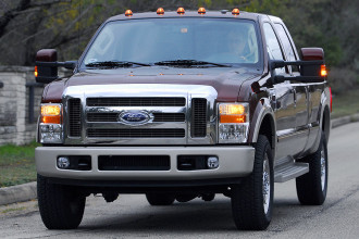 Photo Used 2008 Ford F350 Lariat Super Duty