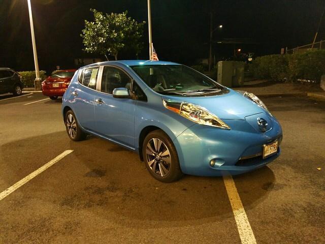 Photo Used 2013 Nissan Leaf SL