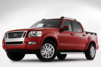 Photo Used 2007 Ford Explorer Sport Trac XLT