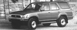 Photo Used 1993 Toyota 4Runner SR5