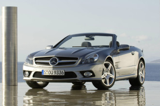 Photo Used 2009 Mercedes-Benz SL-Class SL550 Roadster