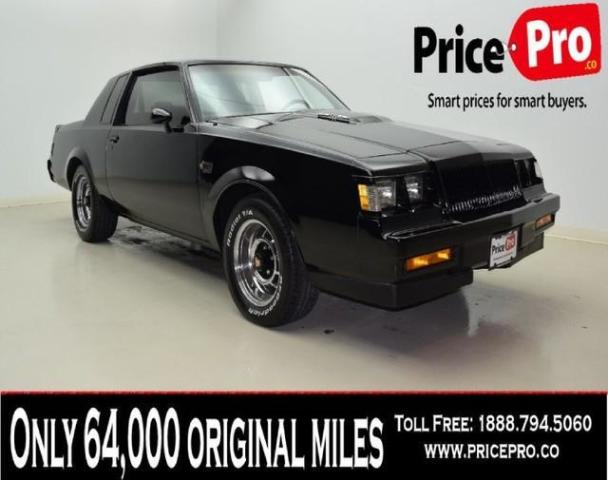 Photo Used 1987 Buick Regal Grand National