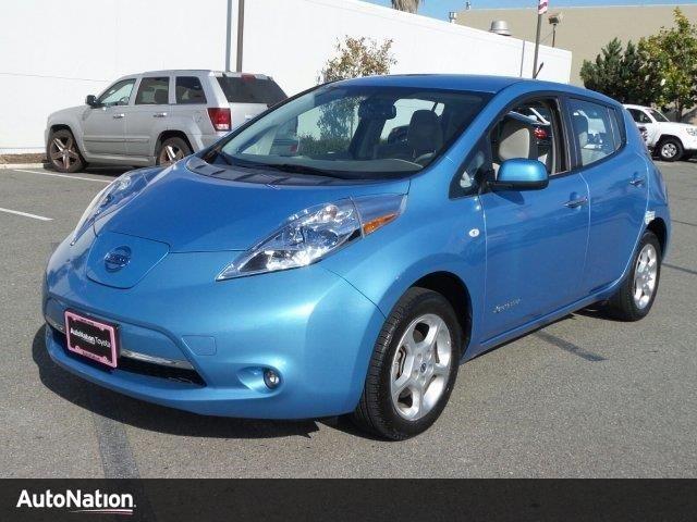 Photo Used 2012 Nissan Leaf SL