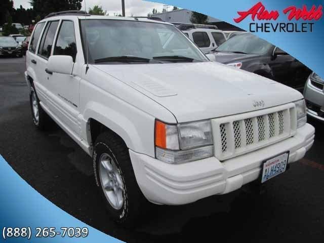 Photo Used 1998 Jeep Grand Cherokee Limited