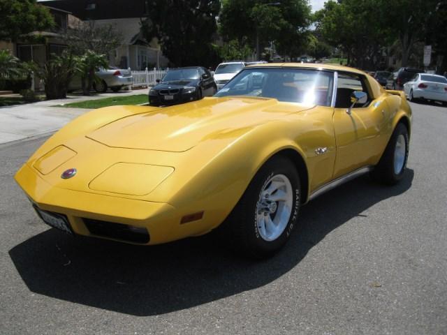 Photo Used 1974 Chevrolet Corvette Stingray