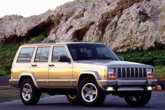 Photo Used 2000 Jeep Cherokee SE