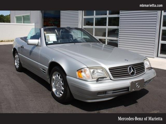 Photo Used 1997 Mercedes-Benz SL-Class