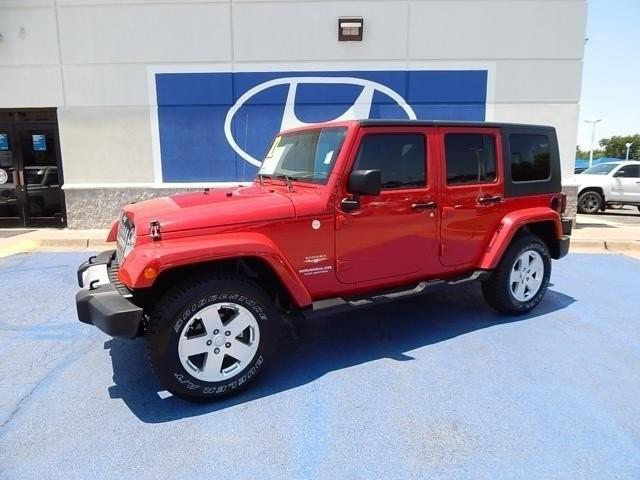 Photo Used 2010 Jeep Wrangler Unlimited Sahara