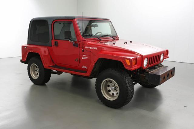 Photo Used 2001 Jeep Wrangler Sport