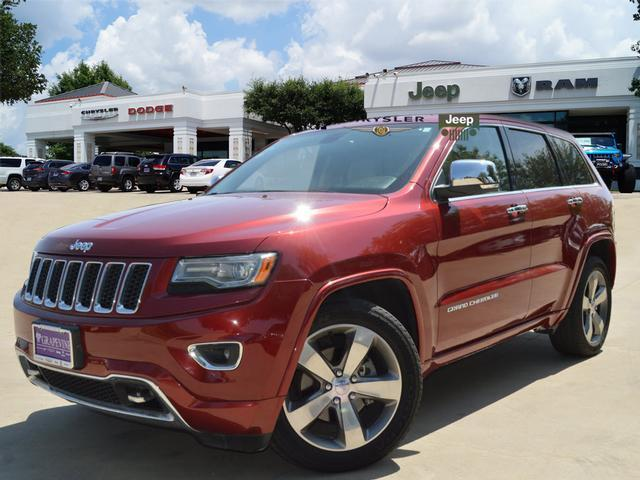 Photo Used 2014 Jeep Grand Cherokee Overland