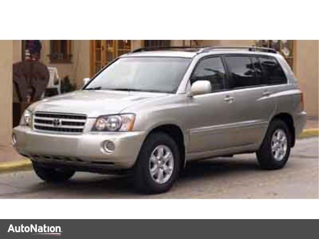 Photo Used 2003 Toyota Highlander