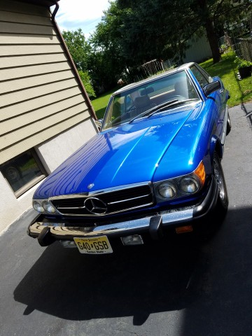 Photo Used 1982 Mercedes-Benz 380SL