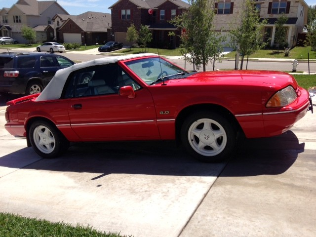 Photo Used 1992 Ford Mustang LX 5.0L Sport