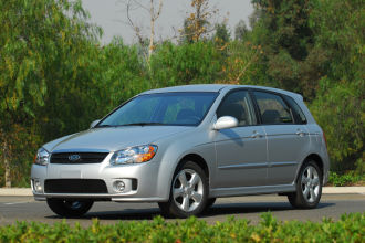 Photo Used 2008 Kia Spectra5 SX