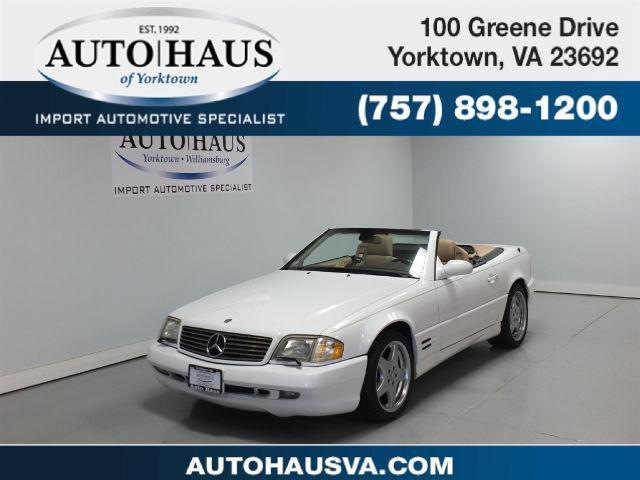 Photo Used 2001 Mercedes-Benz SL-Class SL500 Roadster