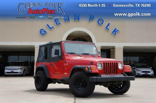 Photo Used 1997 Jeep Wrangler SE