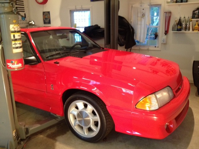 Photo Used 1993 Ford Mustang SVT Cobra