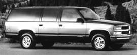 Photo Used 1995 Chevrolet Suburban 1500