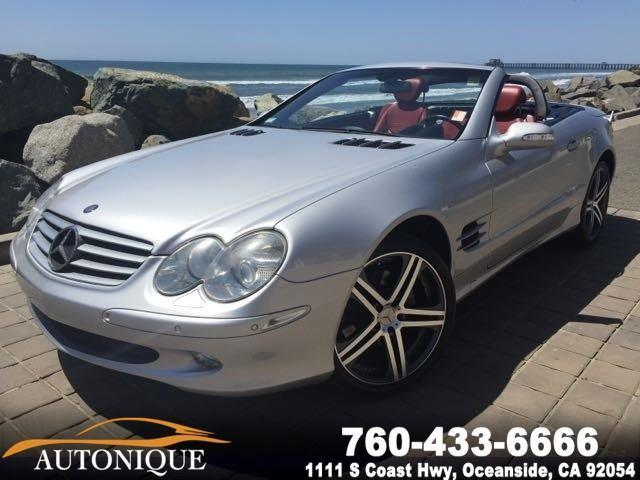 Photo Used 2003 Mercedes-Benz SL-Class SL500 Roadster