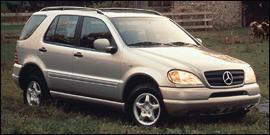 Photo Used 2001 Mercedes-Benz ML320 4MATIC
